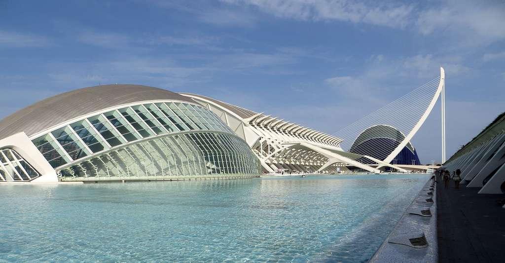 La maison des Arts et des Sciences à Valence. © Sunnya343, Wikimedia, CC by-sa 4.0