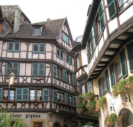 Maisons à colombages à Colmar. © Flosch, CC by sa 3.0