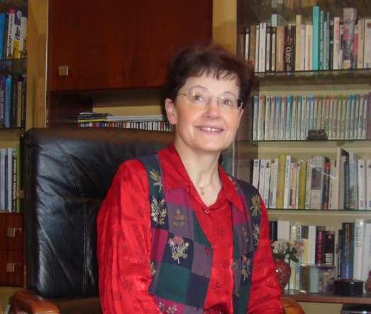 L'astrophysicienne Françoise Combes dans son bureau à Meudon. © CC BT SA 3.0, Wikipédia