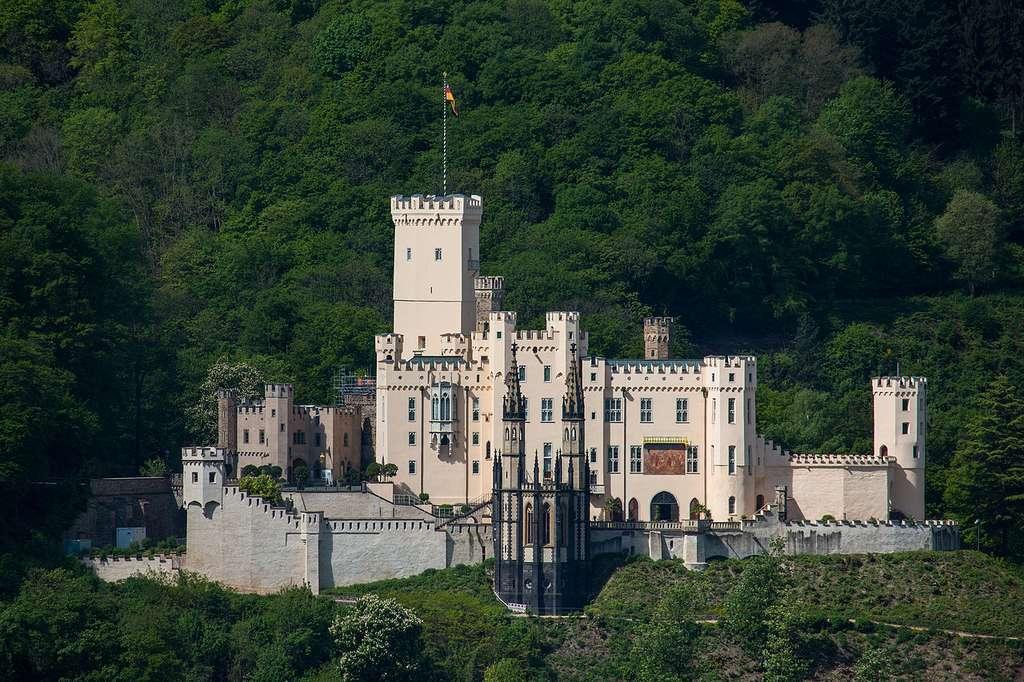 Le château de Stolzenfels à Coblence, © Holger Weinandt, Wikimedia Commons by-sa 3.0
