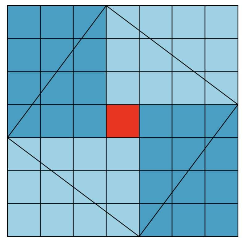 On retrouve le théorème de Pythagore dans le Chou Pei, l'un des plus anciens textes mathématiques chinois. © Hervé Lehning