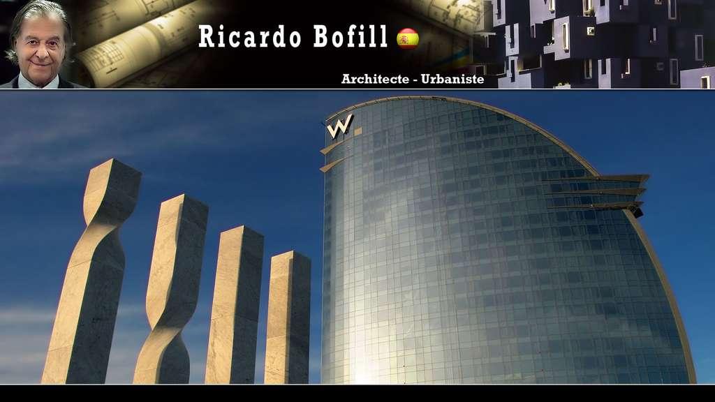 Les quatre barres de la senyera catalana (Ricardo Bofill)