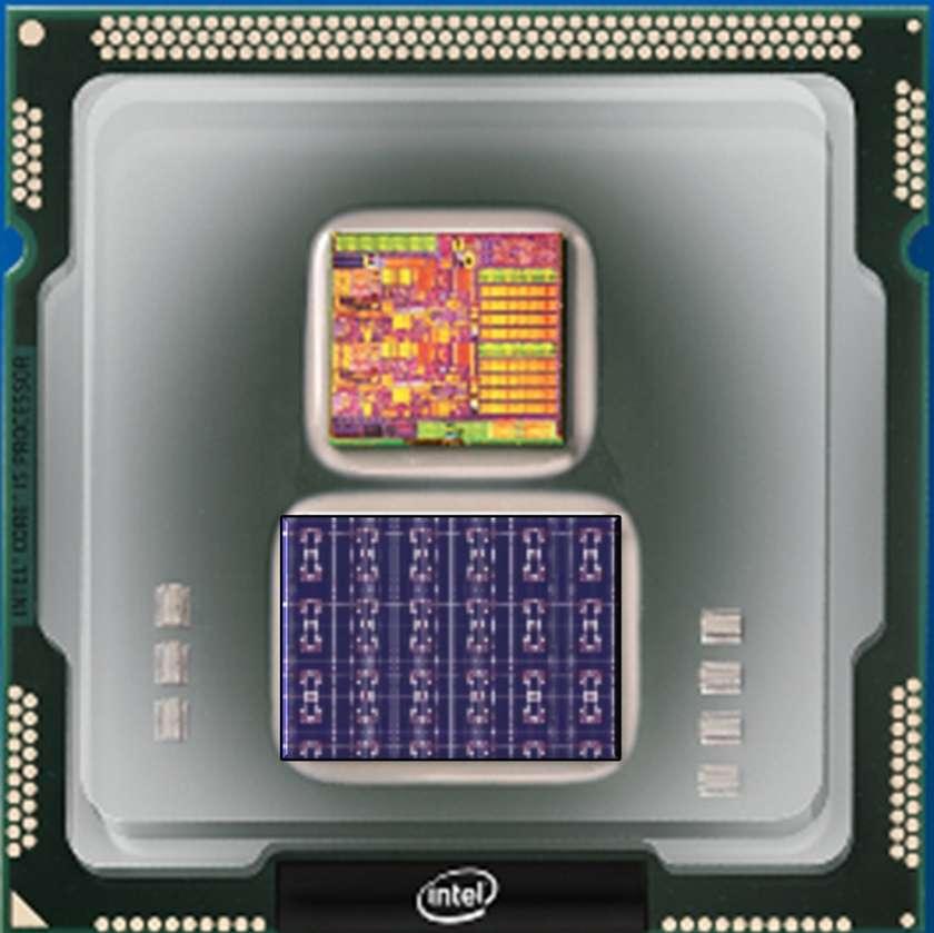 Le processeur neuromorphique Loihi d'Intel © Intel