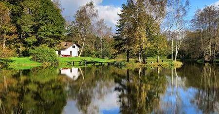 Photo prise dans le Plateau des Mille Étangs. © JGS25, Wikipédia, CC by-sa 4.0