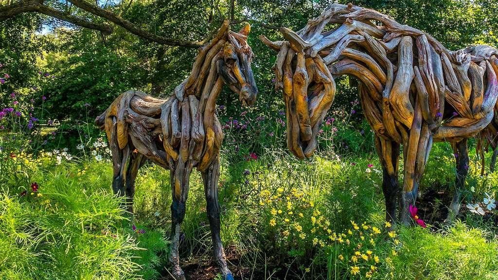 Créations en bois de grève par Heather Jansch