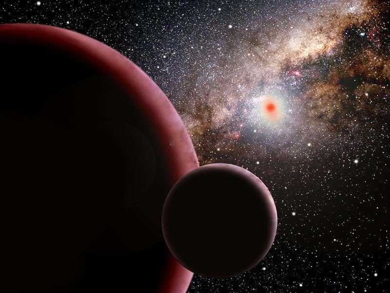 Les exoplanètes de la Voie lactée