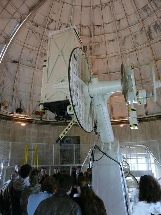 Table équatoriale et télescope de 60 centimètres