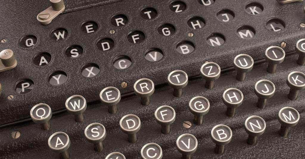 Les rotules et systèmes magiques de la mémoire. Ici, la machine Enigma, pour le cryptage. © The Central Intelligence Agency, DP