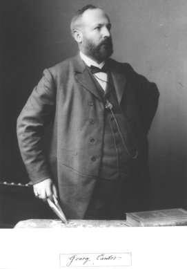 Au cours de ses travaux, Georg Cantor a distingué deux types de nombres infinis, les cardinaux et les ordinaux, pour son arithmétique de l'infini. © DP