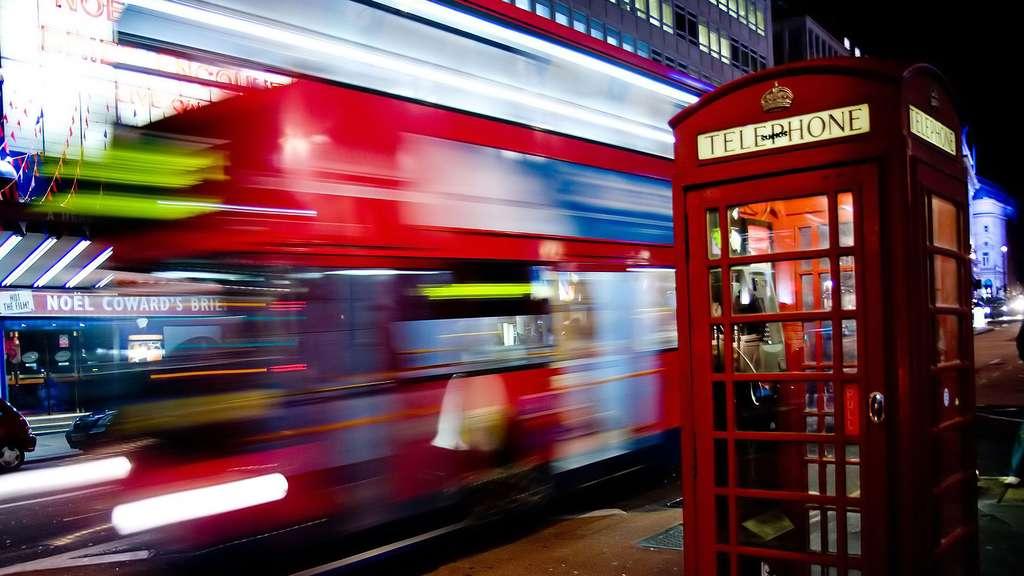 la pollution lumineuse à Londres