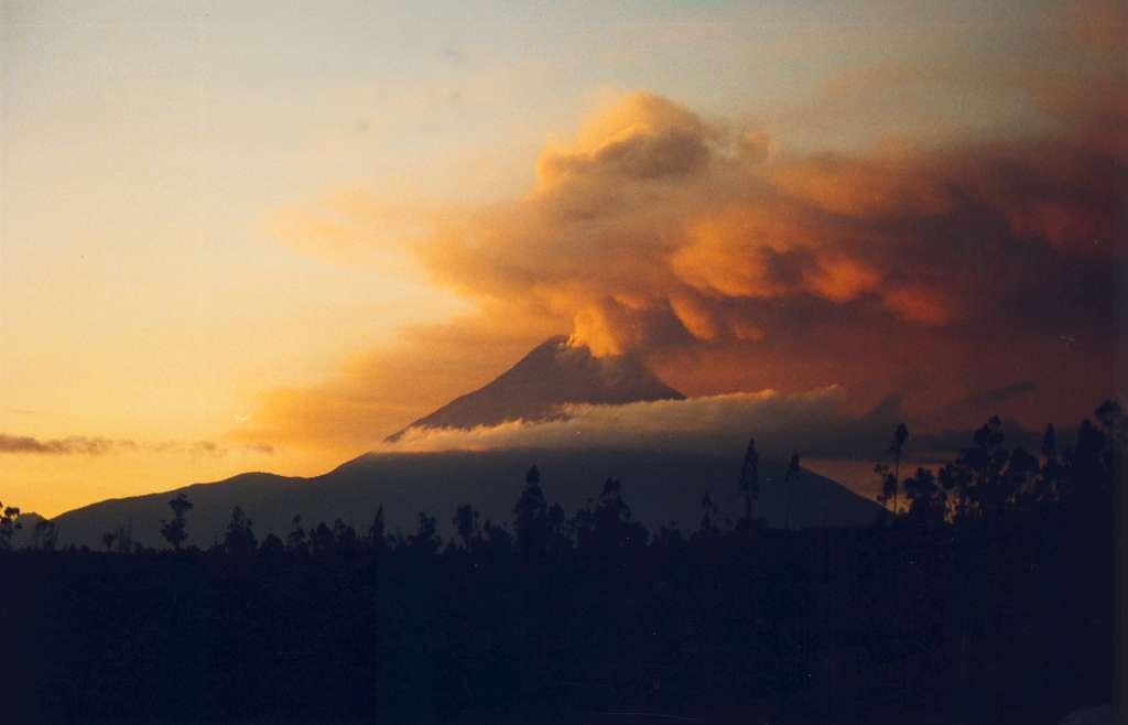 Equateur : Volcan du Tungurahua