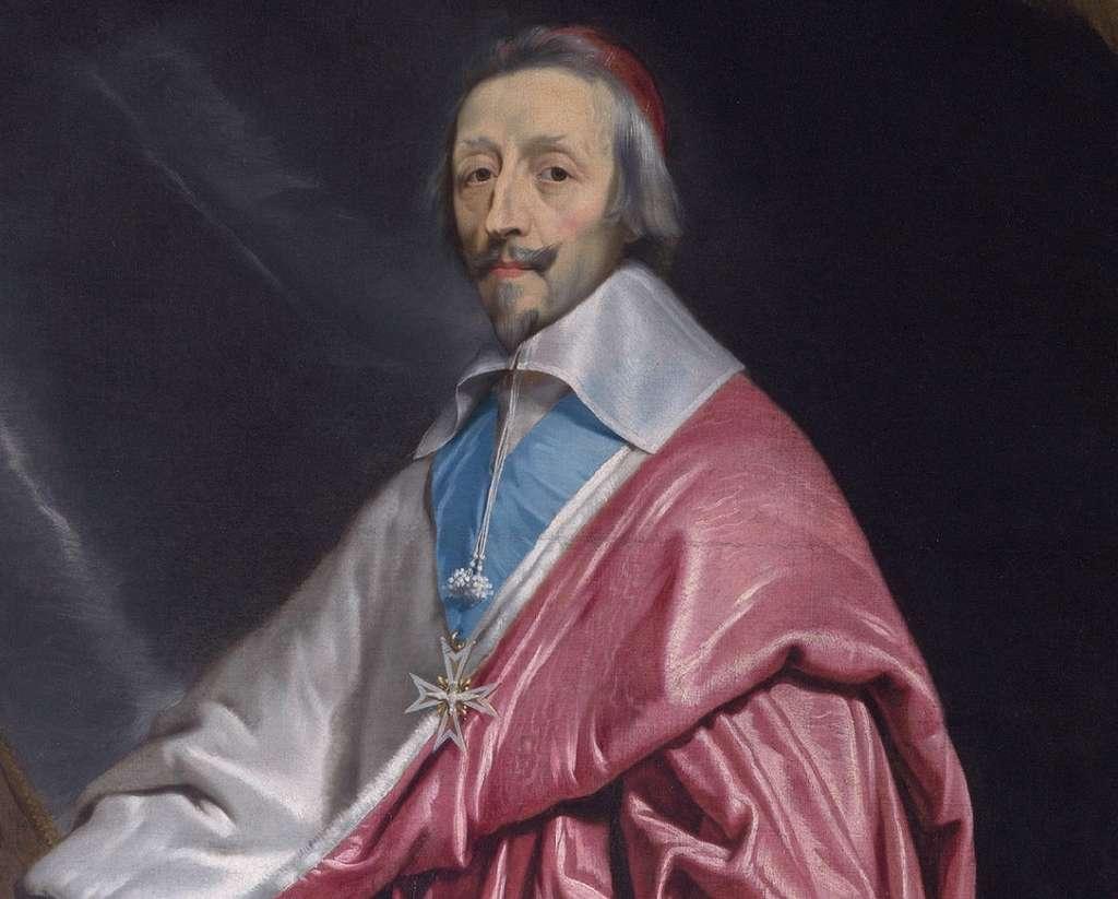 Portrait du cardinal-duc Armand Jean du Plessis de Richelieu, par Philippe de Champaigne avant 1640. National Gallery, Londres. © National Gallery, Wikimedia Commons, domaine public