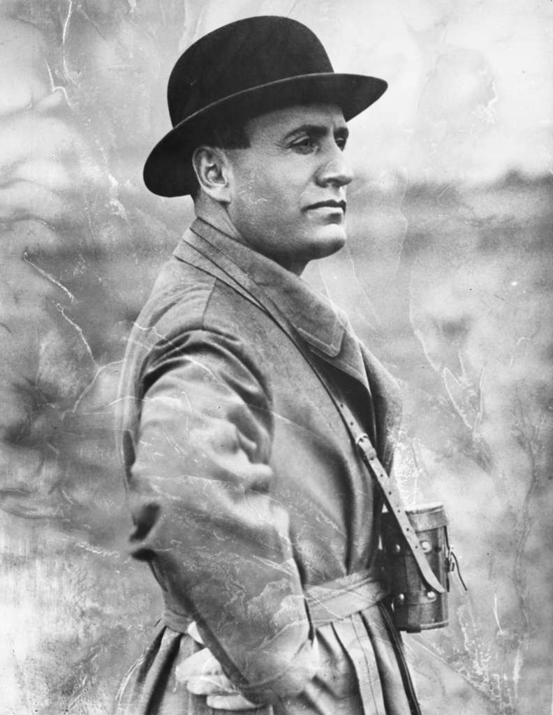 Benito Mussolini (1883-1945), chef de file du fascisme italien était aussi appelé le Duce. © Archivist, Fotolia