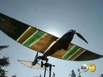 SkySeer : La nouvelle recrue de la police de Los Angeles ! (Courtesy of KCAL9)