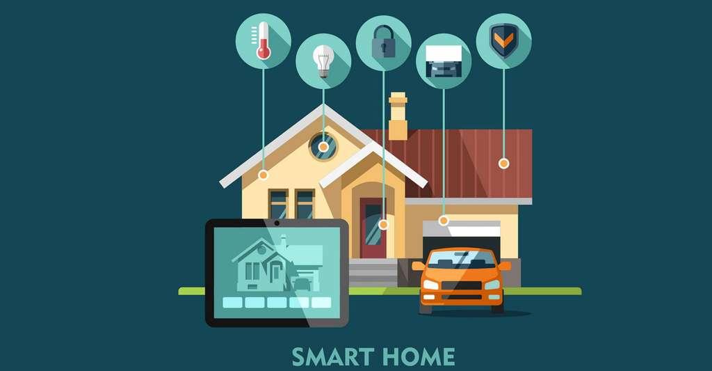 La domotique repose sur un système de réseau de communication. Peut-on l'installer soi-même ? © Faber14 - Shutterstock