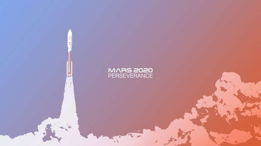 Vivez le lancement de Mars 2020 alias Perseverance en direct le 30 juillet avec la Nasa. © Nasa