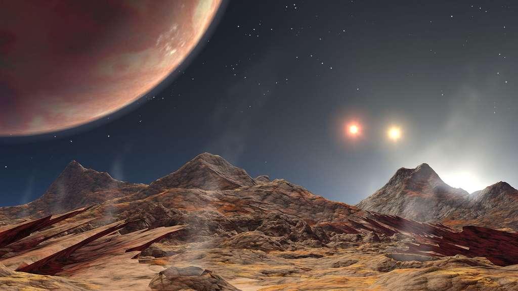 HD 188753, en orbite dans un système stellaire triple