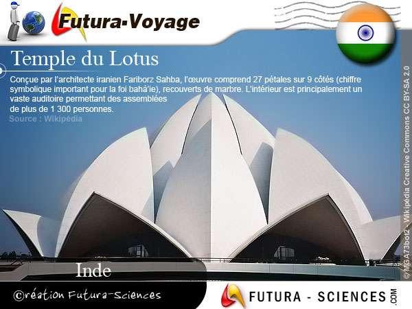 Temple du Lotus - Inde