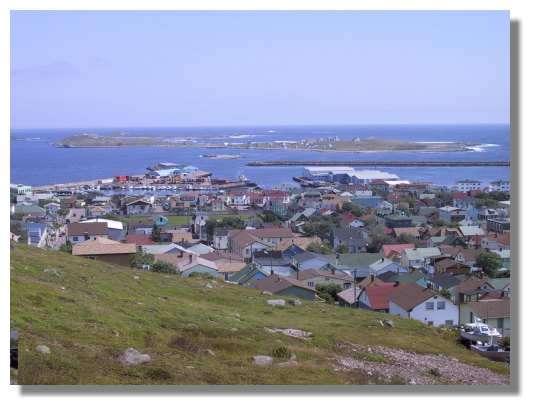 La ville de St Pierre regroupe près de 7000 habitants. © C. Marciniak