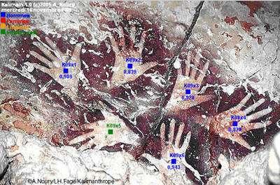 Le « bouquet de main » d'Ilas Kenceng