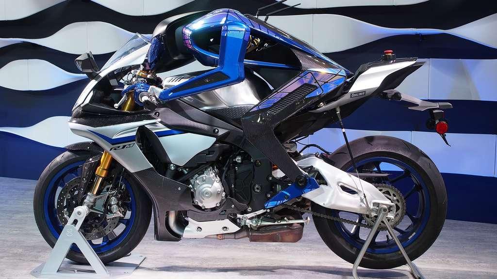 Motobot, bientôt champion de moto