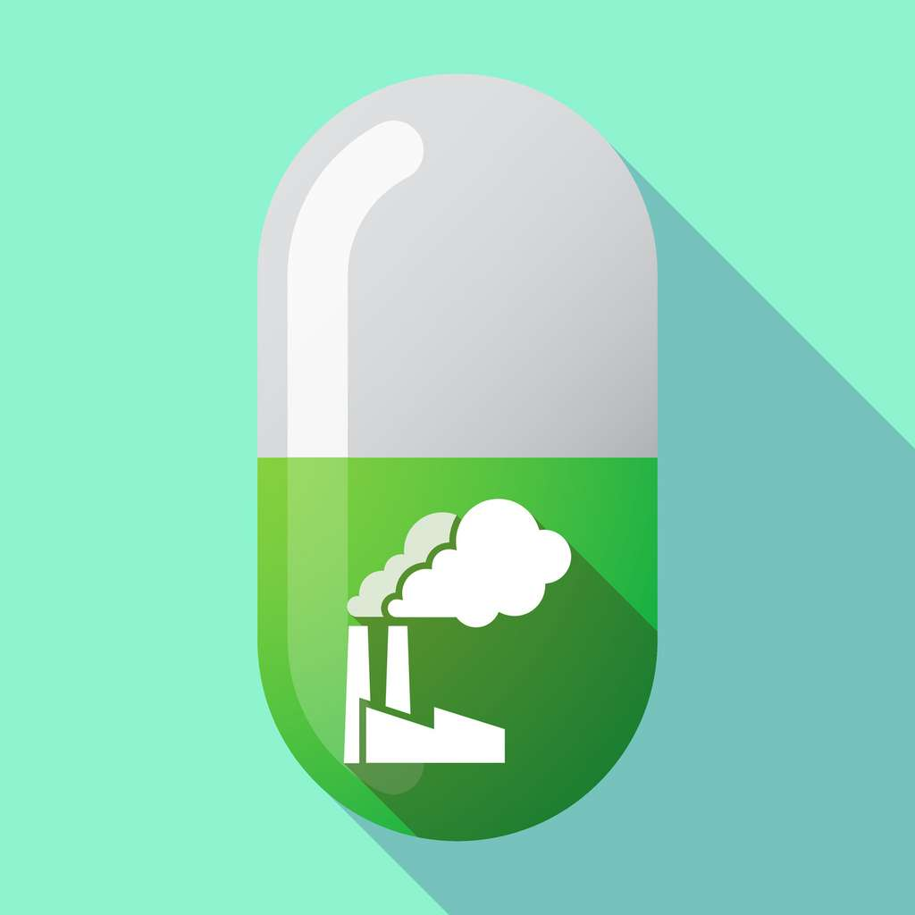 Les entreprises du médicament sont 13 % plus polluantes que les constructeurs automobiles alors qu'elles pèsent 28 % de moins dans l'économie. © jpgon, Fotolia