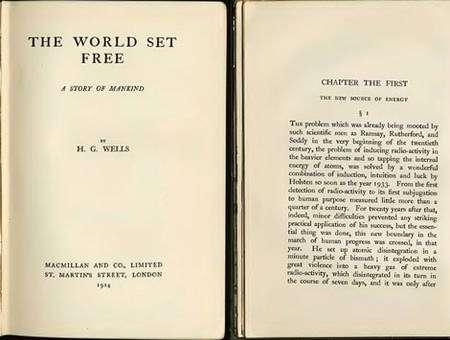 Le roman de H.G. Wells qui anticipe l'énergie nucléaire