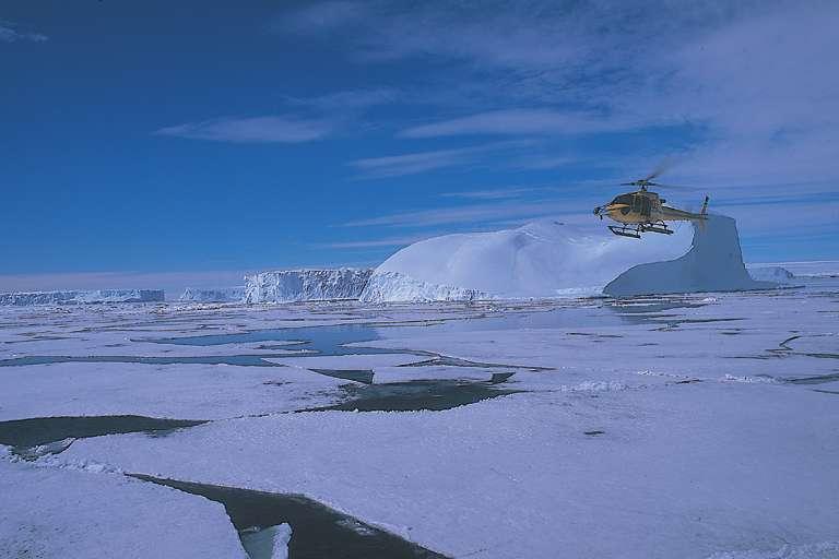 La base antarctique Dumont d'Urville sur la Terre-Adélie