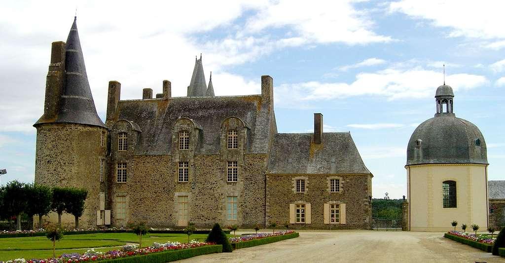 Château de Rochers-Sévigné, à Vitré. © Luna04, CC by-sa 3.0