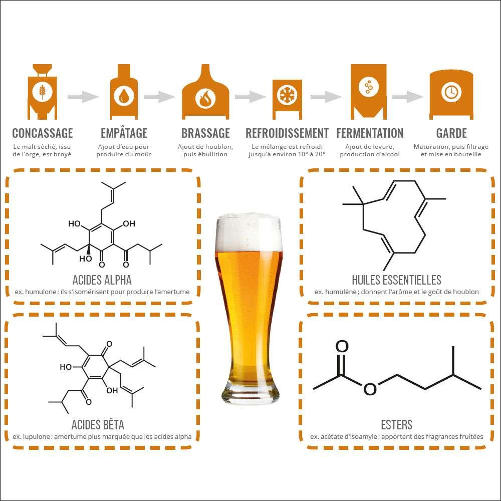 Qu'est-ce qui fait une bonne bière ? © PPUR