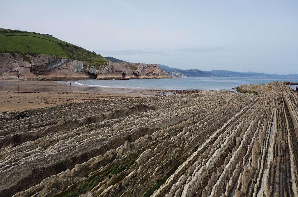 Flyschs de Zumaia, côte basque espagnole, lieu de tournage pour la série Game of Thrones. © Ksenia Plotnikova, Pixabay