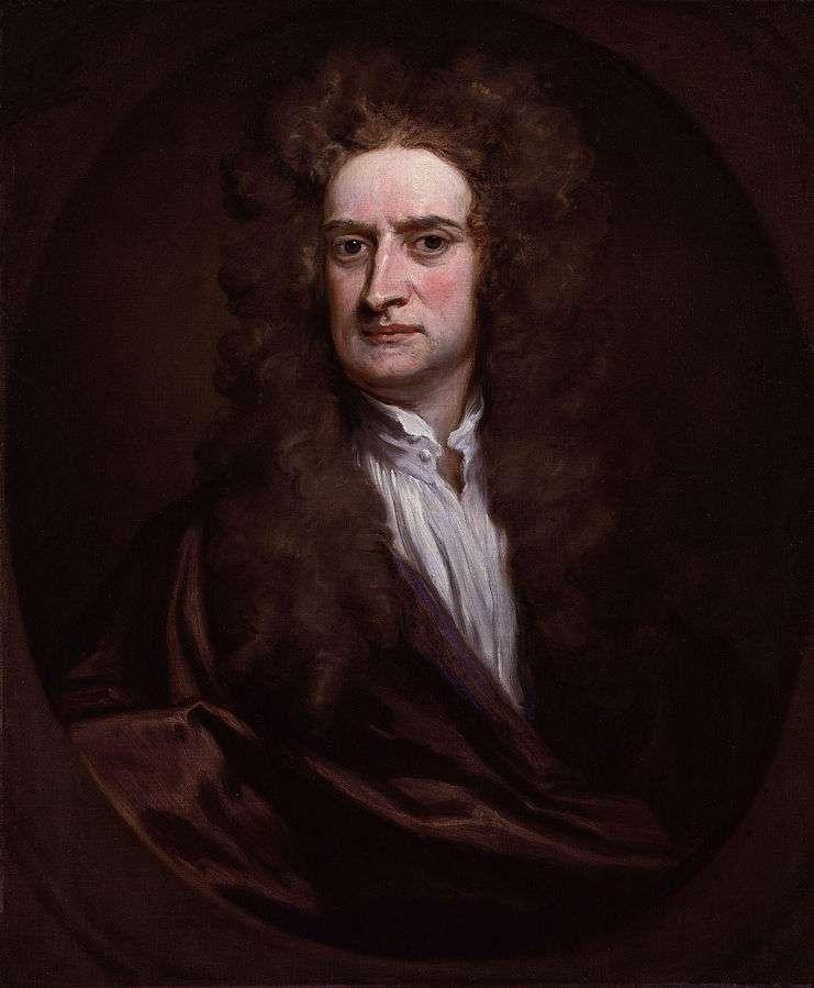 Isaac Newton a notamment laissé son nom à trois lois du mouvement. © DP