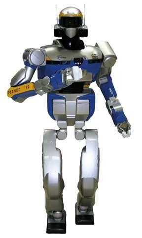 HRP-2, le robot humanoïde du JLR. © JLR-LAAS