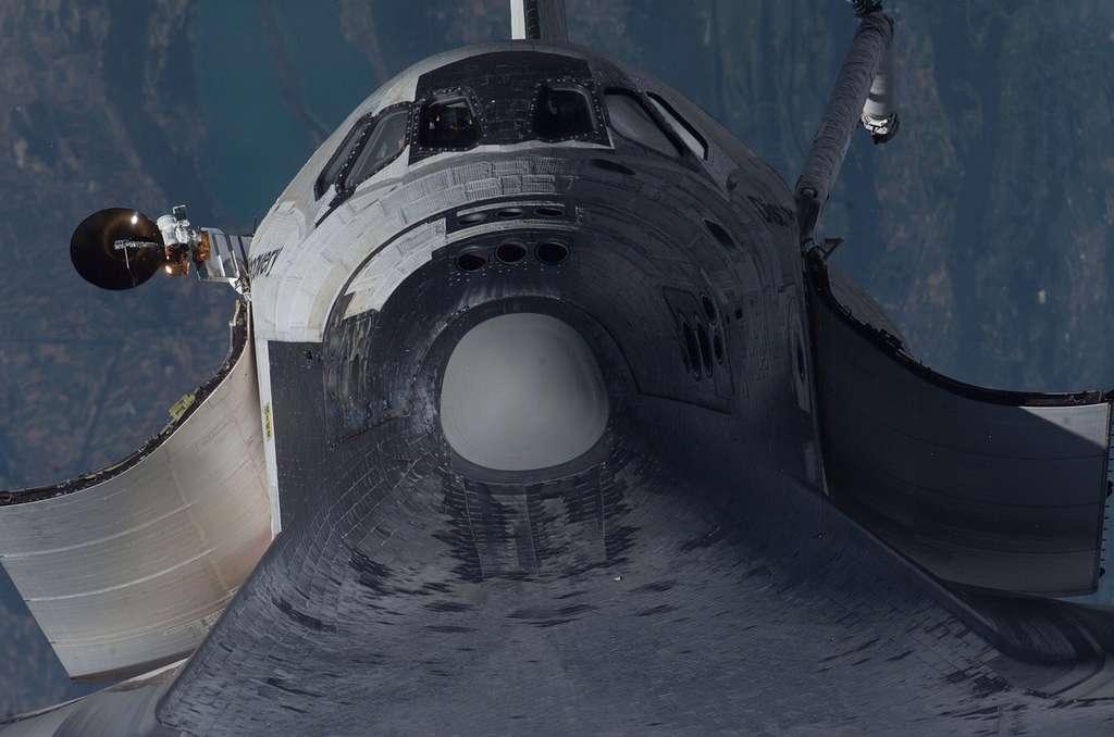 Discovery en approche de l'ISS !