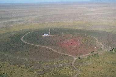Le site de l'Observatoire, en Argentine (Crédits : Pierre Auger Observatory)