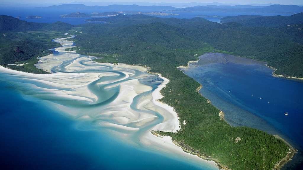 Une plage australienne comme un refuge de pureté