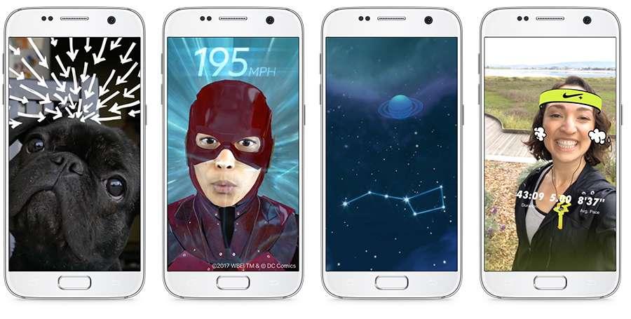 C'est à partir des smartphones que Facebook veut bâtir son offre de réalité augmentée. © Facebook