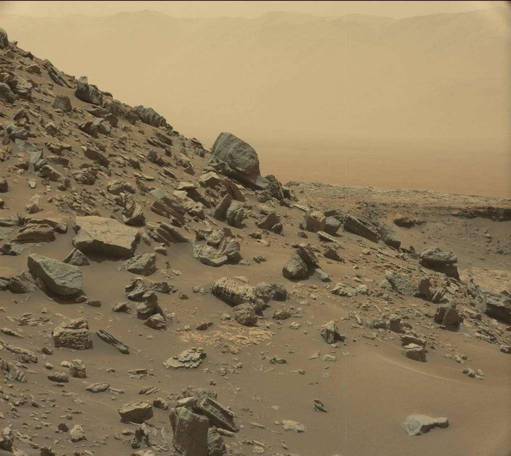 Les paysages martiens vus par Curiosity