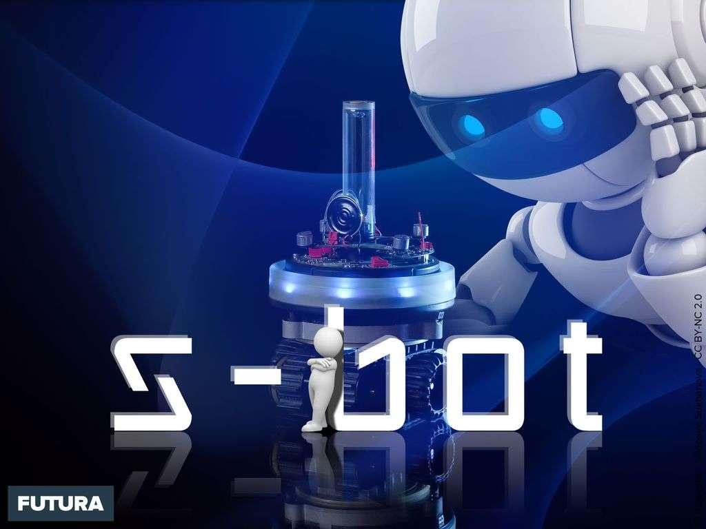 S-bot robot mobile