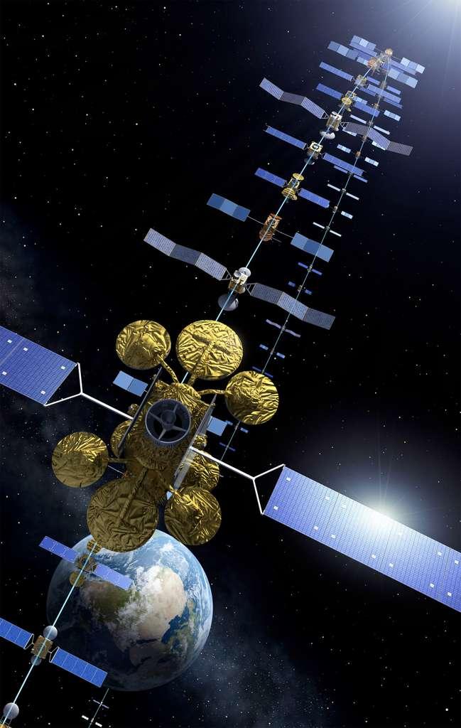 L'avenir d'Artes, le programme de recherche avancée sur les systèmes de télécommunications, a également été garanti. © Esa, P. Carril