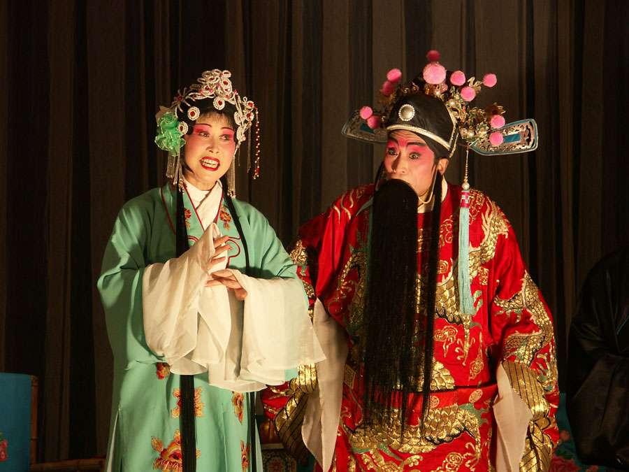 Opéra du Sichuan, à Chengdu
