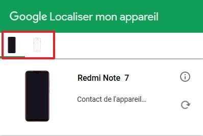 La localisation est généralement très rapide. © Google