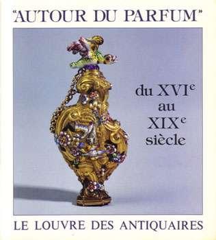 Affiche d'exposition de flacons, au Louvre. © DR