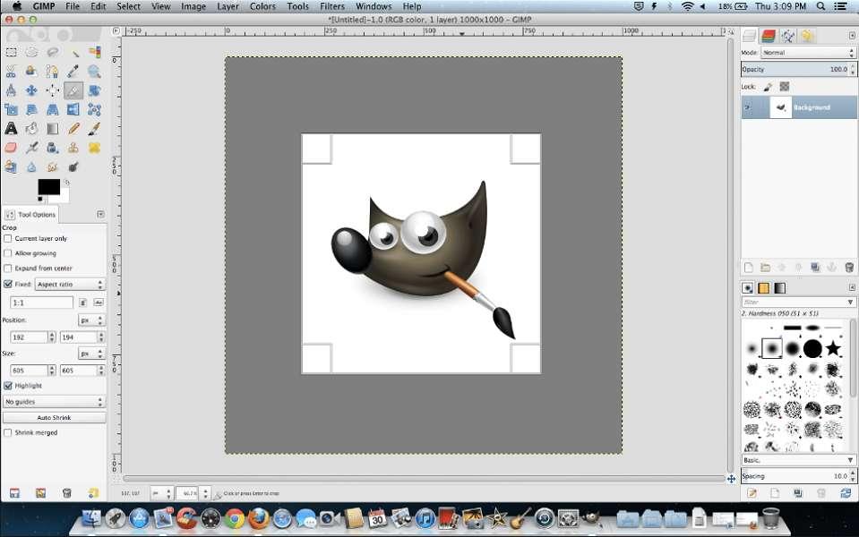 GIMP est un éditeur d'images gratuit, très complet et régulièrement mis à jour. © GIMP