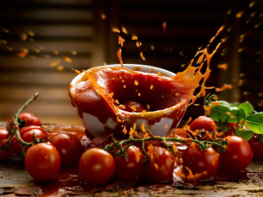 Des projections assurées avec la sauce tomate ! © EcoPim-studio, Fotolia