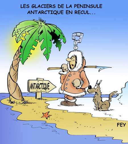 L'Antarctique. © Fey