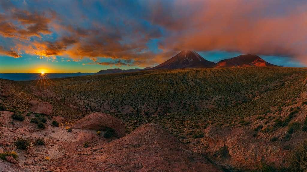 Un volcan miné