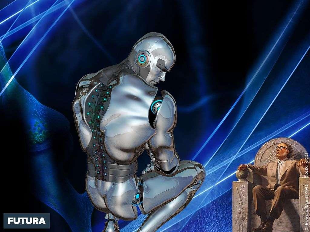 Isaac Asimov les trois lois de la robotique