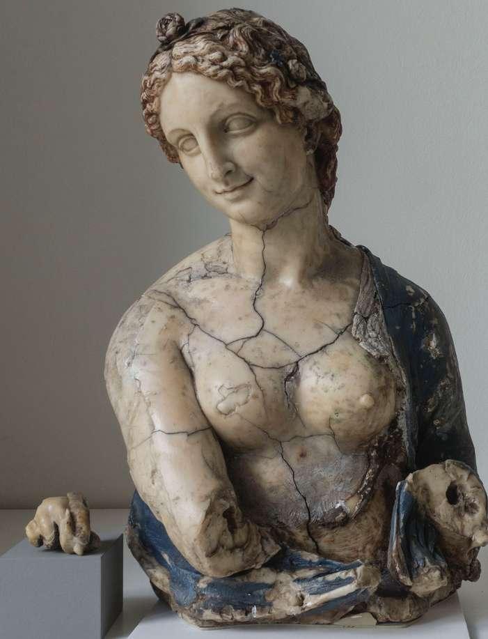 Buste de Flora, numéro d'inv. 5951, Skulpturensammlung (SBM), Museum für Byzantinische Kunst (SBM), Staatliche Museen zu Berlin (SMB) - Stiftung Preußischer Kulturbesitz (SPK). © SMB-SPK, CNRS