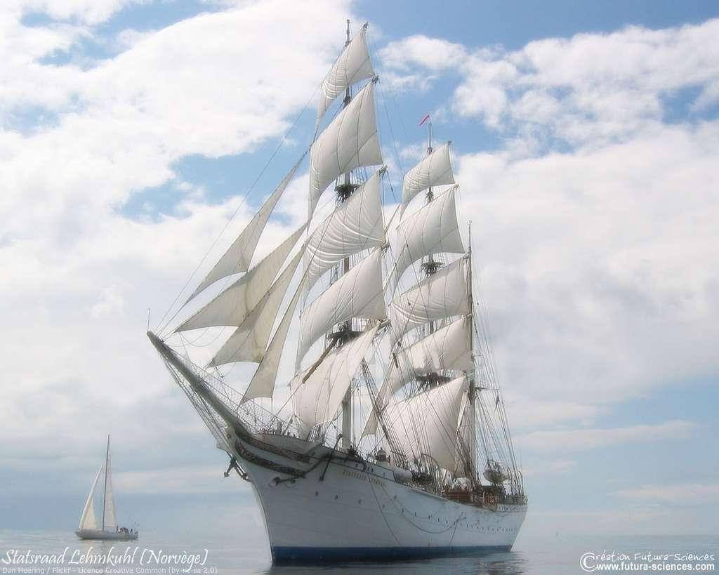Le Statsraad Lehmkuhl, un bateau norvégien de 1914